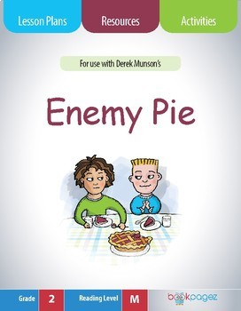 Enemy Pie Lesson Plans & Activities Package, Second Grade (CCSS)