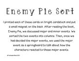 Enemy Pie Main Event Sort