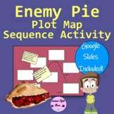 Enemy Pie Plot Map Sequence Activity/distance learning/goo