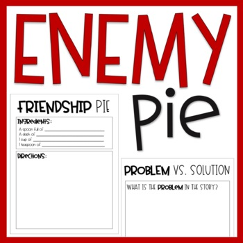 Enemy Pie / Read Aloud
