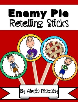 Enemy Pie: Retelling Sticks and Book Companion