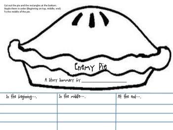 Enemy Pie Story Summary