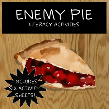 Enemy Pie - Worksheet activities