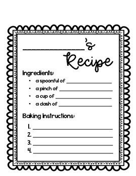 Enemy Pie Writing and Craft Activity Pack