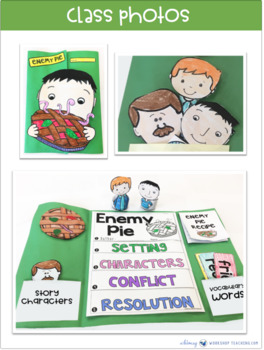 Enemy Pie - a Book Companion (65+ pages)