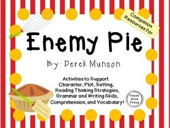 Enemy Pie by Derek Munson:  A Complete Literature Study!