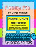 Enemy Pie by Derek Munson: DIGITAL NOVEL NOTEBOOK