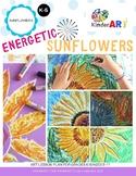 Energetic Sunflowers Art Lesson Plan