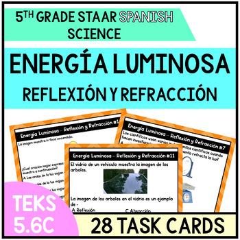 Energia Luminosa Refraccion y Reflexion Light Energy (5th Grade)