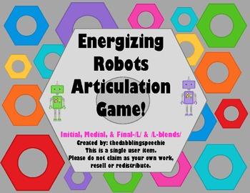Energizing Robots Articulation Game- /L/ & /L-blends/