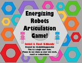 Energizing Robots Articulation Game S-BLENDS