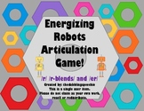 Energizing Robots Articulation Game- /r/, /r-blends/ & /er/