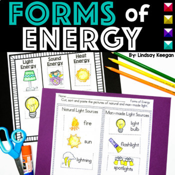 Forms of Energy ~ Light, Sound and Heat for Primary Learners