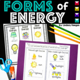 Forms of Energy - Light, Sound and Heat for Primary Learners