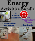 Forms of Energy Activities Bundle: Sound and Light, Thermal, etc.