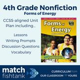 Energy | 4th Grade Nonfiction | Unit | Lessons