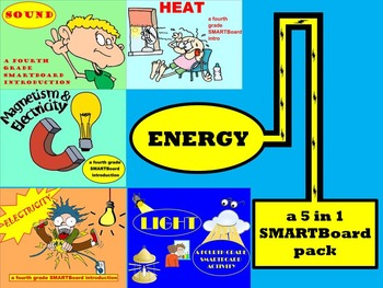 Energy - 5 in 1 SMARTBoard Combo Pack
