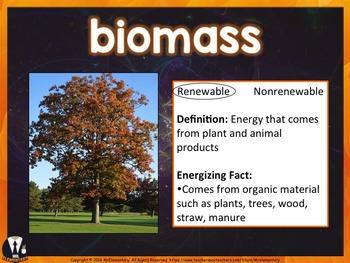 Energy Vocabulary PowerPoint