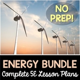 Energy 5E Lesson Plans Bundle - Complete Lesson Plans
