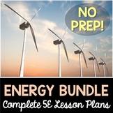 Energy 5E Lesson Plans Bundle - Distance Learning Options