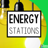 Forms of Energy Science Stations | Mechanical, Light, Soun