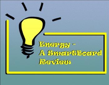 Energy - A Second Grade SmartBoard Review