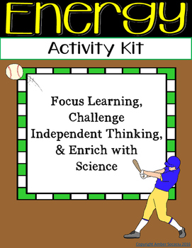 Fourth Grade NGSS - Energy Activities