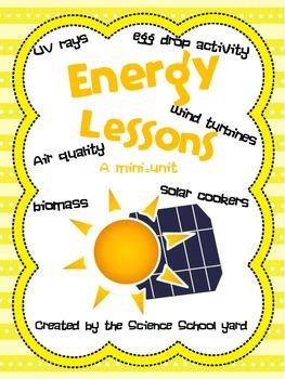 Energy Activities: Mini-Unit