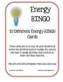 Energy BINGO