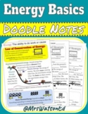 """Energy Basics """"Doodle"""" Style Notes"""