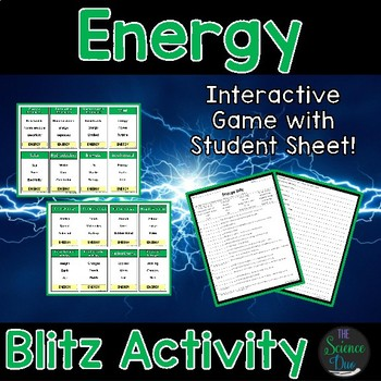 Energy Blitz Activity