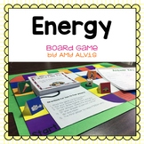 Energy Board Game Potential Kinetic Transformations