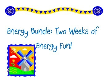 Energy Bundle: All of My Energy Lessons and Activities in One!