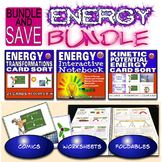 Energy Bundle - Interactive Notebook, Energy Transformations, Potential/Kinetic