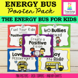 Energy Bus Poster Pack | Character Education | PBIS