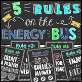 Energy Bus Posters!
