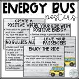 Energy Bus Posters Editable   Shiplap/Farmhouse