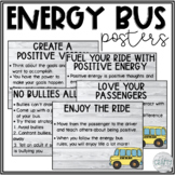 Energy Bus Posters (Shiplap/Farmhouse)