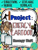 Energy, Work, and Simple Machines Unit Comic Review Project