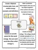 Energy Choice Board