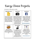 Energy Choice Project Board
