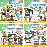 Energy Clip Art Bundle