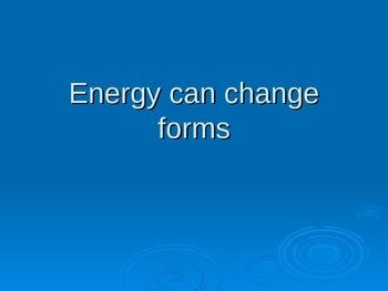 Energy Cloze