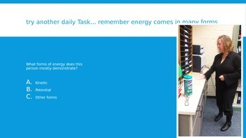Energy Completes Our Lives ppt game transfers notes activity