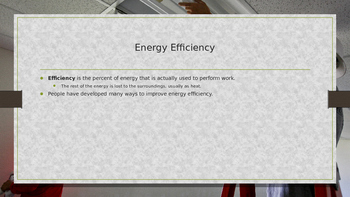 Energy Conservation Powerpoint