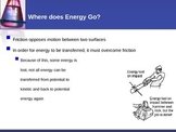 Energy - Conservation of Energy