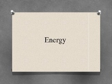 Energy Content PowerPoint