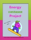 Energy Conversions Booklet (Mini-Project)