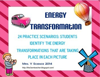 Energy Conversions/Transformations Practice!