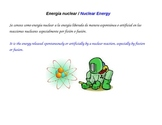 Energy Definition and Forms - Bilingual Posters